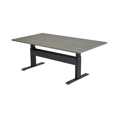 RightAngle's NewHeights Elegante XT Conference Table - 2 Leg Rectangle