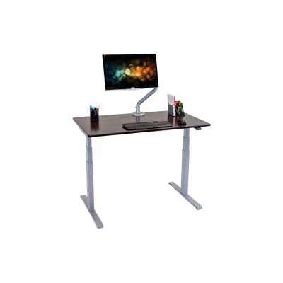 iMovR Lander Lite Solid Wood Top Desk - Hero Shot