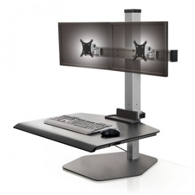 Double-monitor, free standing Winston model.