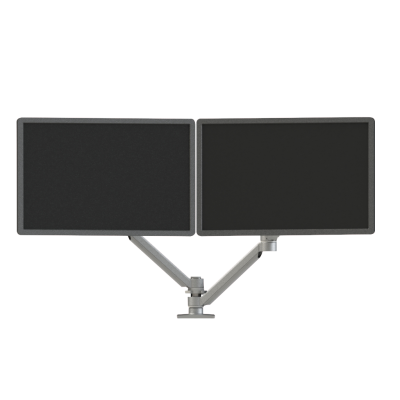 Xtend Dual Screen Two-Arm Monitor Arm Front