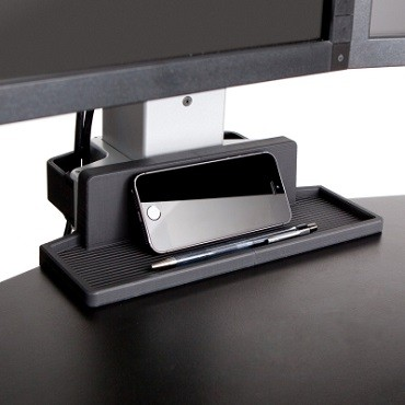 Winston Standing Desk Converter Three Monitors