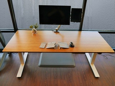 bamboo bramley adjustable power product desk featured portable bp large