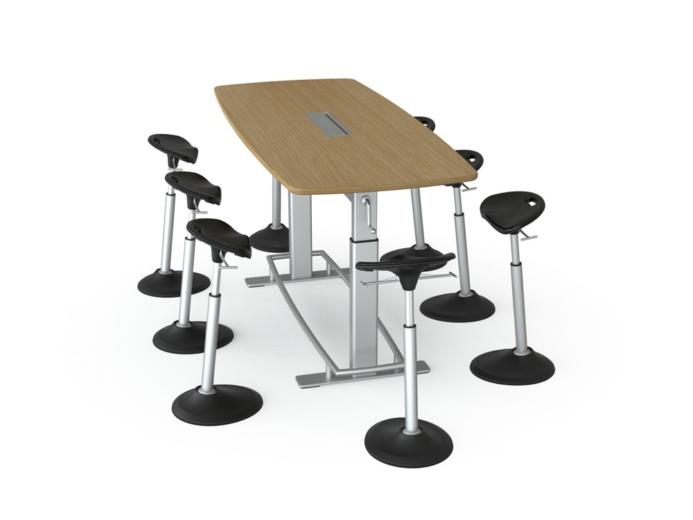 Focal Upright Furniture S Confluence Collaboration Table