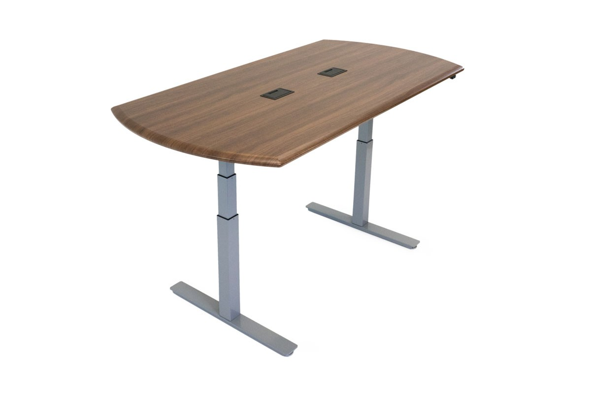 Synapse Adjustable-Height Conference Table