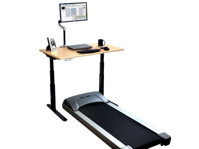 ... Elite Stand Up Desk In With ThermoTread GT Desk Treadmill ...