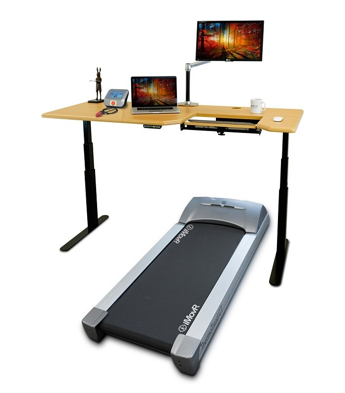 Omega Everest Treadmill Desk Workstation