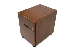 iMovR File Pedestal in Shaker Cherry