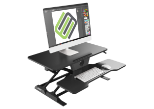 Eureka New Generation Sit-Stand Desk Converter Hero