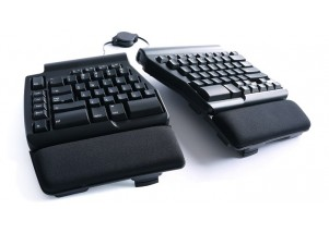 "Matias Ergo Pro Ergonomic Keyboard featuring ""Quiet Click"" Mechanical Switches"