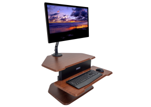 "Eureka Ergonomic 28"" Sit-Stand Desk Hero"