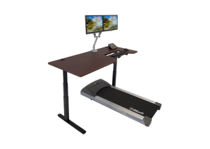iMovR Lander Treadmill Desk w/ SteadyType - Hero Shot