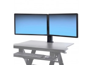 WorkFit Dual Monitor Kit Example