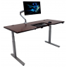 Lander Desk w/ SteadyType - Solid Wood Top
