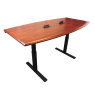 "Synapse Conference Table - Shaker Cherry 36""x72"" on Black Base"