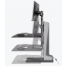 Winston-E Desktop Riser, Two Monitors - Lift
