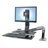 Ergotron WorkFit-A, LCD HD w/ WorkSurface+