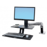 Ergotron WorkFit-A, LD w/ Suspended Keyboard Tray