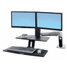 Ergotron WorkFit-A, Dual, Suspended Keyboard Tray