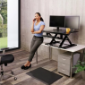 WorkFit-TX Standing Desk Converter - Office View