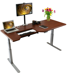 Shop Omega Everrest Stand Up Desks in 4 Sizes & 11 Standard Finishes