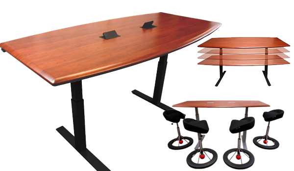 The First Reasonably Priced Adjustable Height Table Designed To Be Used  Anywhere Youu0027d Use A Fixed Height Table.