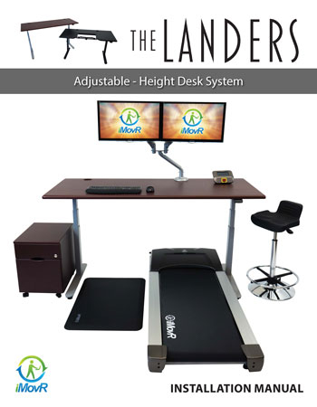 iMovR Lander Standing Desk Manual