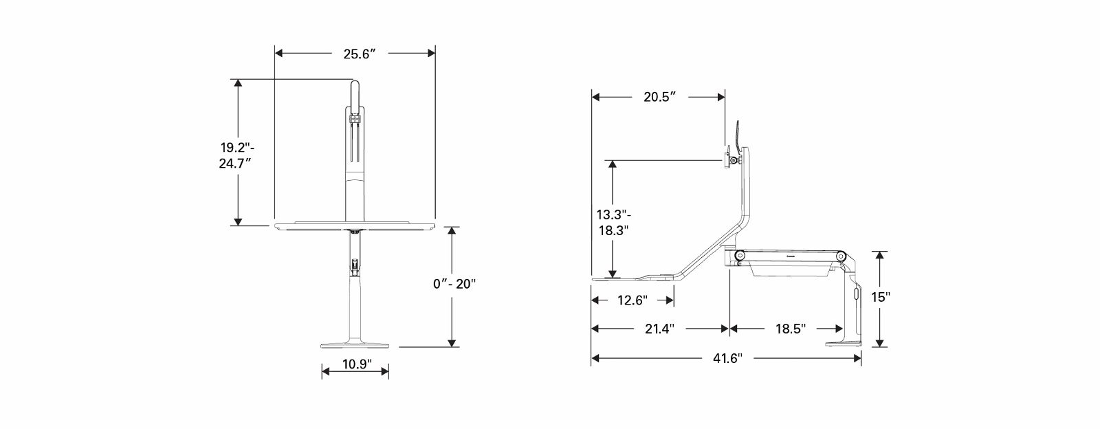 Quickstand Lite Diagram